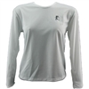 V-Tech Women's Long Sleeve Running Top - White
