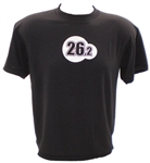 26.2 CoolMax Running Shirt - black - s/s