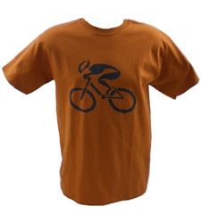 GIZMO Cycling G-Man Classic T-Shirt - Burnt Orange