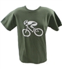 GIZMO Cycling G-Man Classic T-Shirt - Military Green