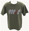 Gizmo Roadie T-Shirt - Military Green