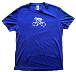 GIZMO Cycling G-Man Bicycle Tech Shirt - Royal Blue