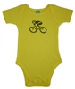 G-Man Bicycle Onesie - Yellow