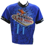 Las Vegas Cycling Jersey - Blue