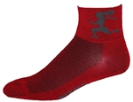 Gizmo Girl Wooly-G Socks - red