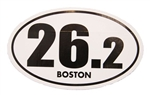 26.2 Boston Marathon Sticker