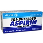 Tri-Buffered Aspirin Tablets, 325 mg, 100/Bottle