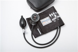 Aneroid Sphygmomanometer McKesson LUMEON, Pocket Style Hand-Held, 2-Tube Adult, Large, Adult Size Arm