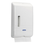 "Kimberly-Clark White, SlimFold Folded Towel Dispenser, 14.3"" x 8.9"" x 2.8"""