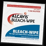 "Bleach-Wipe Towels, 1:100 Dilution, 8""x10"", 100/BX"