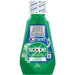 Crest Scope Classic Mouthwash, 1.2 oz., Original Mint Flavor, 180/CS
