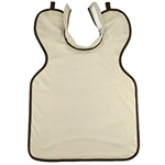 Henry Schein X-Ray Apron with Collar, Adult, Beige, 0.3 mm