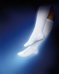 "Diabetic Compression Socks Sensifootâ""¢ Knee-high Large White Closed Toe8-15MM 2EA/PR"