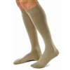 Compression Stockings For Men, Knee-High, Large, Khaki, Closed Toe, 1 Pair