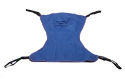 Drive Medical Full Body Sling 4 or 6 Points With Head Support Straps - Attached, Large, 450 lbs