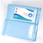 Dynarex, Disposable Underpads, 17x24, Tissue Fill, (2 ply), 300/CS