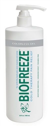 Biofreeze Cold Therapy Pain Relief Gel Pump, Colorless, 32 oz.