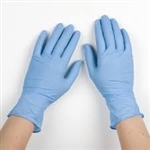 Mckesson Confiderm 4.5C Nitrile Exam Gloves, Non-Sterile, Powder Free,  Blue, Small, 100/BX 10/BX/CS