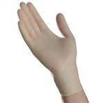 McKesson Stretch Vinyl Exam Gloves, P/F, Non-Sterile, Ivory, Medium, 100/BX, 10BX/CS