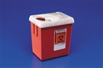 Phlebotomy Sharps Containers, 2.2 Quarts, Red
