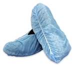 McKesson Shoe Cover, One Size Fits Most, Shoe-High, Non-Skid, Blue, NonSterile, 150/CS
