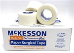 "Medi-Pak Surgical Tape, Performance Plus, Paper, 1"" x 10 Yards, NonSterile, 12/BX"