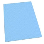 "McKesson Procedure Towel Dental Bibs, 13"" x 18"", 2-Ply, Blue, 500/CS"