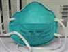 3M Particulate Respirator/Surgical Masks, Cone Headband, Small, 20/BX