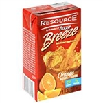 Resource Breeze, Fruit Beverage, Orange, 8 oz, 27/case