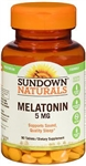Sleep Aid Sundown Naturals, 5 mg Strength, 90/Bottle