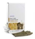 McKesson Surgical Glove, Perry® Sterile, Brown, Powder Free, Latex, Hand Specific, Size 8, 100/bx