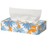 "Kleenex Facial Tissue, White, 8.2"" x 8.4"", 36BX/CS"