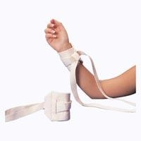 Ankle/Wrist Restraint, One Size Fits Most, Tie Strap, 1-Strap, 1 Pair