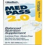Med Pass 2.0 Oral Supplement, Vanilla, 32 oz. Box, Ready to Use, 12/CS