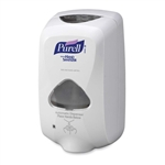 Purell TFX Sanitizer Touch Free Dispenser, Wall Mount, 1200 mL
