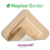 "Mepilex Foam Border Dressing, 4"" x 4"", Square, Sterile, 5/BX"