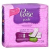 "Poise Bladder Control Pads, 14"" Length, Heavy Absorbency, Absorb-Loc, Female, Disposable, 39/PK"