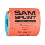 "Splint Emergency SAM Roll Limb Blue/Orange 4.25""x36"""