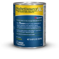 Diabetisource AC, Unflavored, 250 ml, 24/case