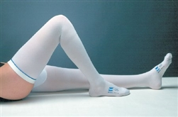 "Anti-embolism Stocking T.E.D.â""¢ Thigh High, Large / Regular, White Inspection Toe, Pair"