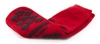 McKesson Terries Slipper Socks, Adult, X-Large, Red, Above the Ankle, 1 Pair