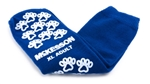 "Slipper Socks McKesson Terriesâ""¢ Adult X-Large Royal Blue Above the Ankle, 1 Pair"