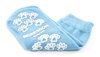"Slipper Socks McKesson Terriesâ""¢ Youth Light Blue Above the Ankle, 1 Pair"