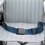 Chair Waist Belt Restraint w/ Airplane Buckle