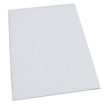 "Dynarex Dental Bibs, White,17 3/4"" x 12 7/8"", 2-Ply, 500/CS"