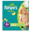 Pampers Baby Dry Heavy Absorbency, Size 4 Diapers, 24/PK, 4PK/CS