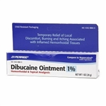 Perrigo Dibucaine Ointment 1% Hemorrhoidal & Topical Analgesic 1 oz (28 g)