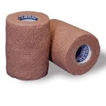 "Cohesive Bandage, Flexwrap, Cotton / Rubber Blend, Tan, 4"" X 5 Yrd, NonSterile"