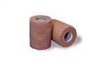"Cohesive Bandage, Flexwrap, Cotton / Rubber Blend, Tan, 6"" X 5 Yrd, NonSterile"