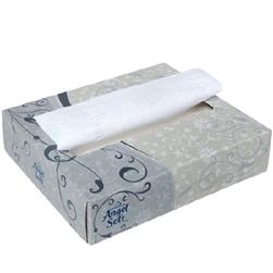 "Angel Soft ps Facial Tissue, White, 5-3/5"" X 7-1/5"", 50/BX 60BX/CS"